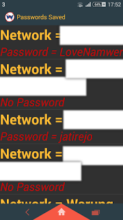 Daftar WiFi