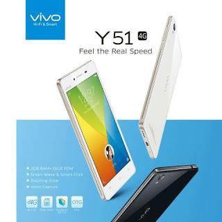 Mengaktifkan 4G LTE di Vivo Y51