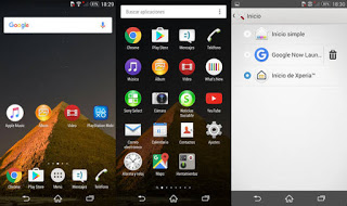 Xperia Home Android Launcher